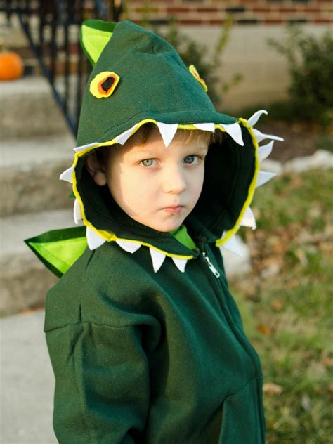 easy diy kids dinosaur costume hgtv