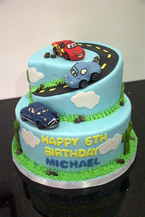 Torte Auto by Cars Cakes Decoration Ideas Birthday Cakes