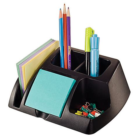 office max desk organizer office depot brand 30percent recycled desk organizer by