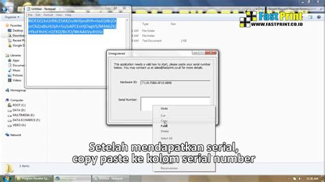 Resetter Epson L120 Indonesia | download tutorial cara reset adjustment resetter epson