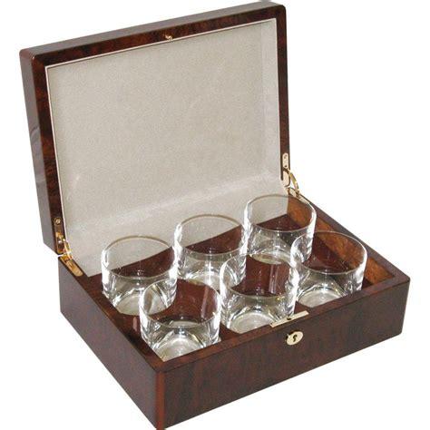 Glass Sets Chor Burl 6 Whiskey Glass Set Hillwood