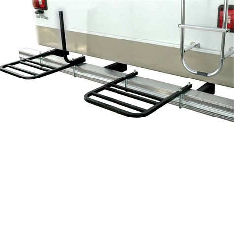 Swagman Rv Bumper Bike Rack by Swagman 80605 Rv Platform Bumper Mount Bike Rack For 2
