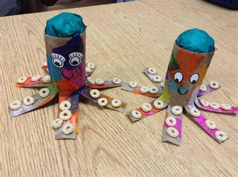octopus toilet paper roll craft get crafty with these toilet paper roll crafts for