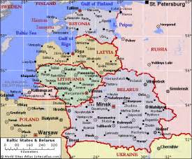 Baltic States Map by Baltic States Russia S Peripheryrussia S Periphery