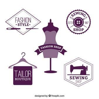 clothes design logo vector boutique fotos y vectores gratis