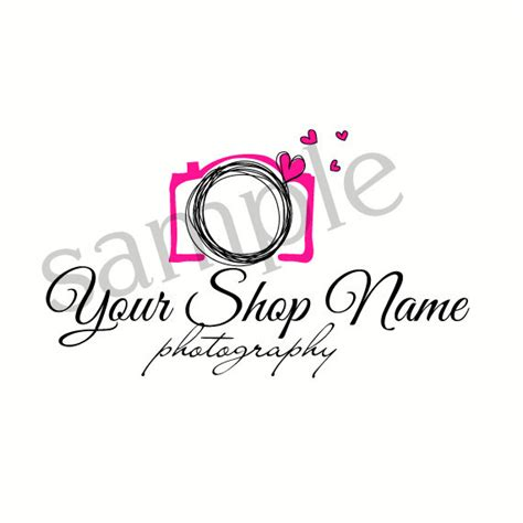 design a logo photography unavailable listing on etsy