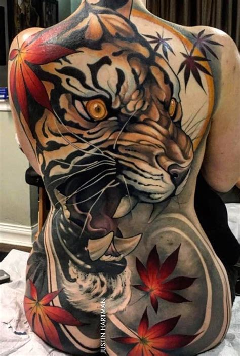 back piece tattoo designs tiger back design asian themed xii