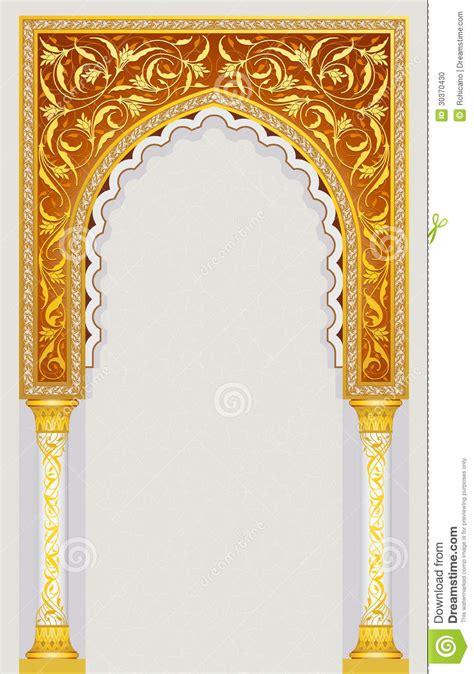 voute islamique dart illustration de vecteur illustration du construction
