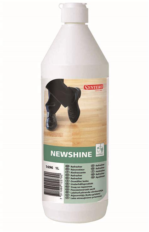 Rejuvenator For Wood Floors by Newshine Floor Rejuvenator 1l Synteko