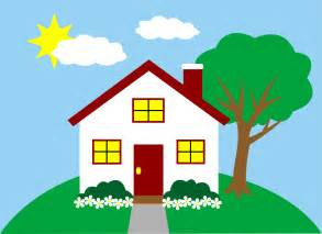 Home Clipart Quaint House On A Hill Free Clip