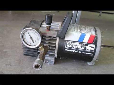 campbell hausfeld powerpal air compressor youtube