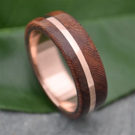 Wedding Rings Made Of Wood by 8 Awesome Gold Wedding Bands Intimate Weddings