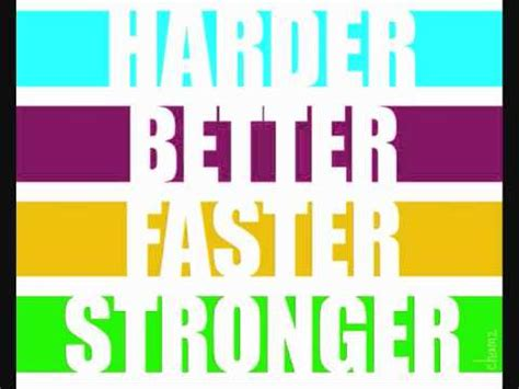 harder better faster stronger kanye west daft vs kanye west harder better faster stronger