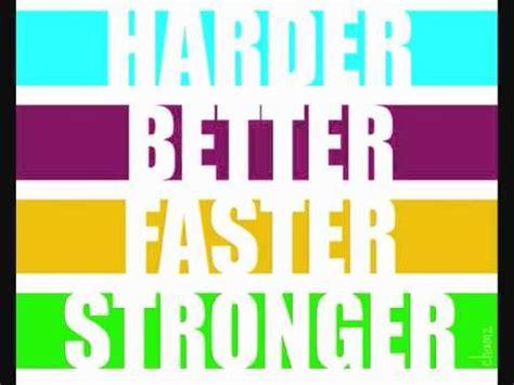 harder better faster stronger remix kanye west daft vs kanye west harder better faster stronger