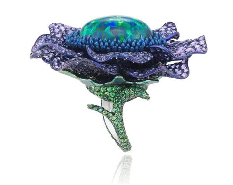 Black Opal 3 3ct 3720 best images about jewellery on