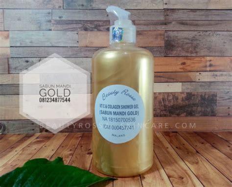 Beautyrossa Sabun Mandi Glutatation sabun mandi gold rossa skincare