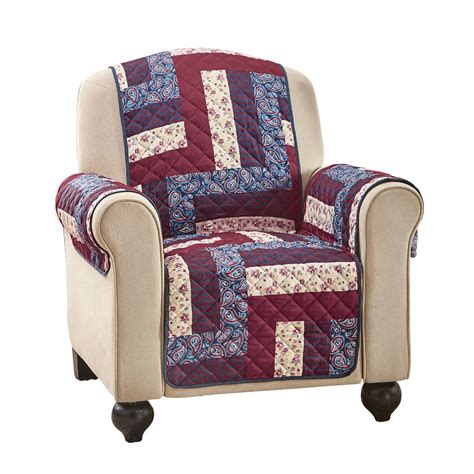 Patchwork Covered Chairs - camden patchwork paisley furniture cover by collections