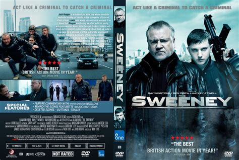 the sweeney dvd custom covers the sweeney cover dvd covers