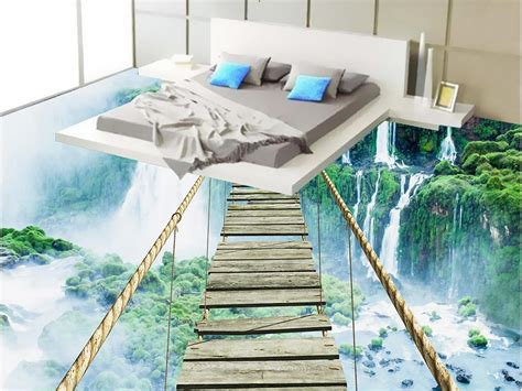 Home App Design And Decor by Custom 3d Wallpaper Bedroom Mural Roll 3d Floor Self