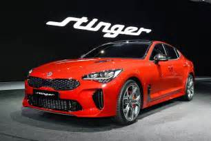 Kia Stinger official 0 100km/h & power outputs confirmed
