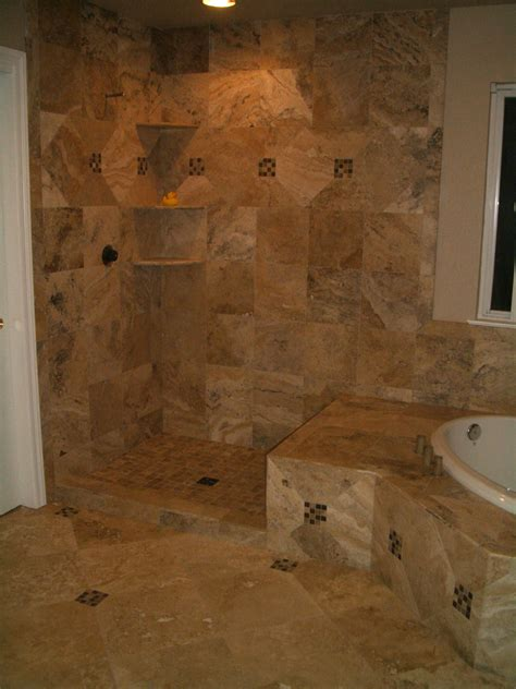 travertine floor bathroom travertine master bathroom tile in windsor