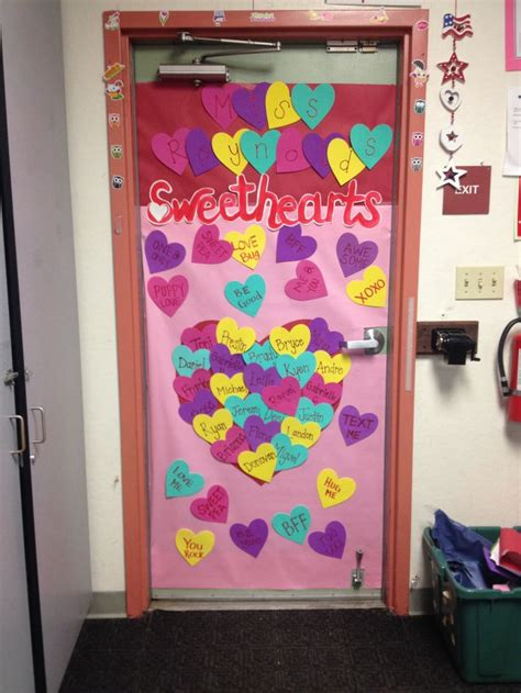 door decorations for valentines s classroom door decoration valentines day