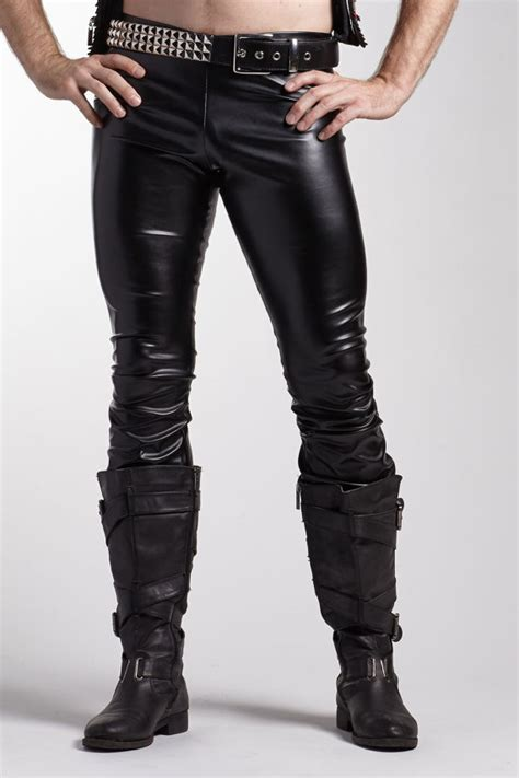 s vinyl flare great costume faux leather