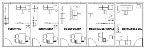 poltrona dentista dwg consultori medici dwg ambulatori dwg