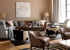 peinture marron papiers peints et rev 234 tements dans le salon