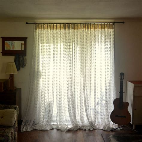 double door curtains lace door curtains 1950s large long double door curtain panels