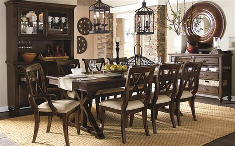 thomasville cherry esszimmer set dining room furniture darvin furniture orland park