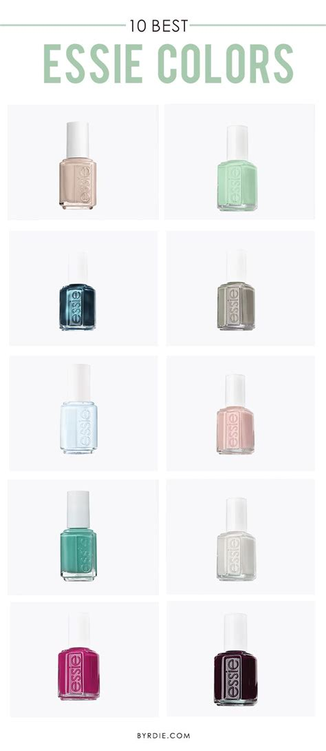 essie top colors the 10 best essie colors of all time essie manicures