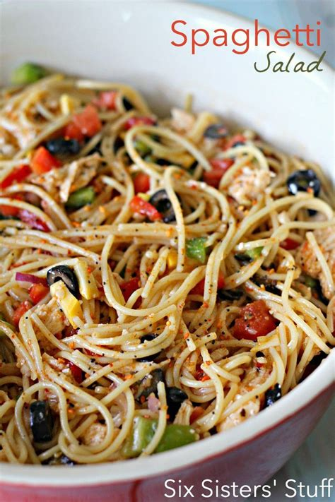 cold salad ideas 17 best ideas about cold spaghetti salad on pinterest