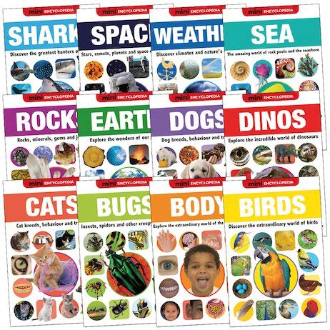 Mini Encyclopedia Sea mini encyclopedia pack scholastic book club