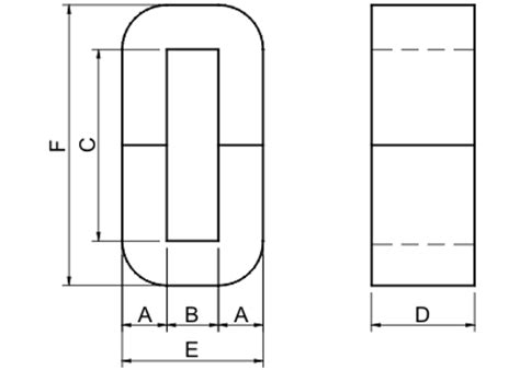 metglas inductor design amorphous cut made of metglas 25um ribbon amorphous c for inductor audio transformer