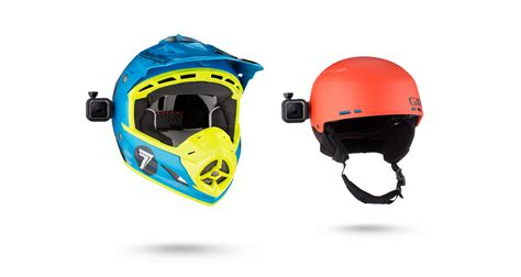 helmet gopro gopro low profile helmet swivel mount for session cameras