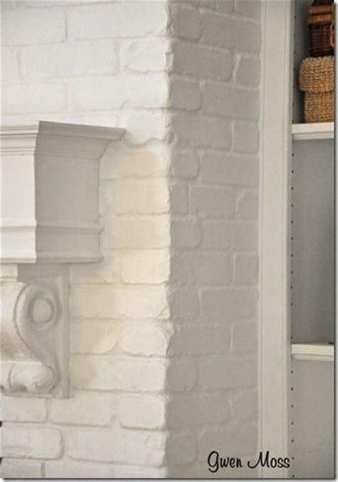 chalk paint on brick mantels sloan paints and fireplace brick on
