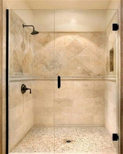 Travertine Tile Bathroom Ideas Travertine Shower Tile Home Ideas