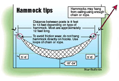 how to hang a hammock swing honolulu star bulletin features