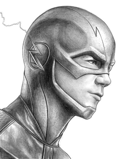 F Drawing Pencil by Sketch Sunday The Flash Created By Iain Reed Some Cool