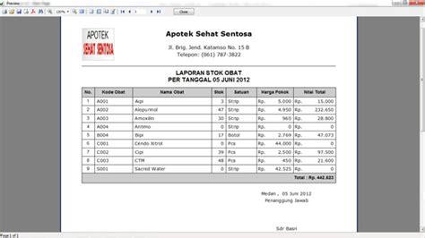 Software Klinik Dan Apotek Apotik software apotik laporan stok obat software aplikasi toko apotek apotik klinik