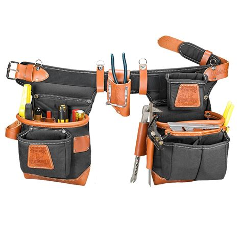 garden tools tool boxes belts storage other tool storage occidental leather 9850lh black left handed adjust to fit