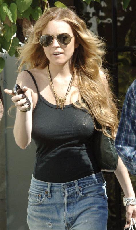 Lindsay Lohan Has No by Lindsay Lohan Lindsay Lohan Bra
