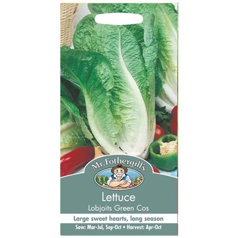 Benih Sayuran Mr Fothergills Mixed Lettuce Leaves Selada Merah jual benih lettuce lobjoits green cos 1250 biji mr fothergills bibit