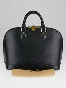 Jual Tas Lv Alma Epi Leather Black With Box Mirror Quality 1 louis vuitton black epi leather alma pm bag yoogi s closet
