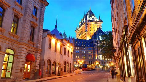 quebec chateau bing wallpaper