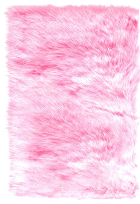 pink fur rug cotton pink faux fur skin accent rug by fur accents contemporary rugs by etsy