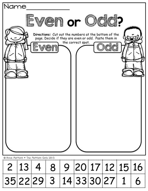 Even Worksheets 2nd Grade by 25 Best Ideas About Even And On The Todd