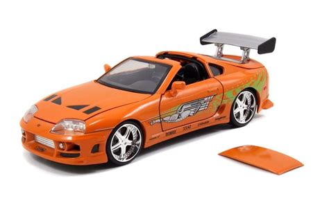 brian fast and furious 1 car jada the fast and furious brian s toyota supra 1 24