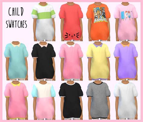 sims 4 cc male geek shirts oversized t shirts for the sims 4 all ages children
